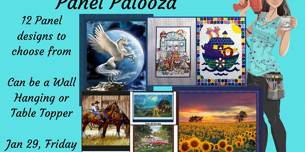 Panel Palooza - Quilted Class