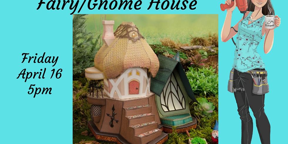 3D Paper Connection - Fairy/Gnome House
