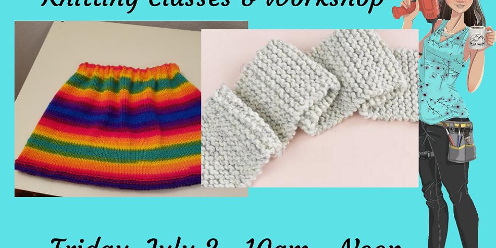 Knitting Classes & Workshop