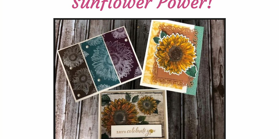 Sunflower POWER Cards