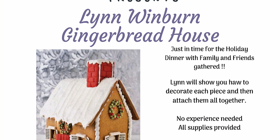 Gingerbread House ( A Cookie Decorating Class)