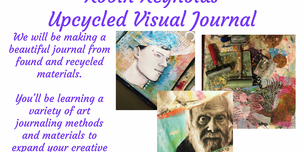 Upcycled Visual Journal