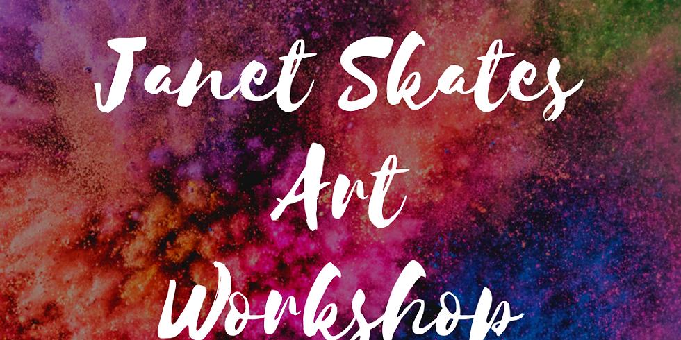 Janet Skates Art Workshop (Day 2)