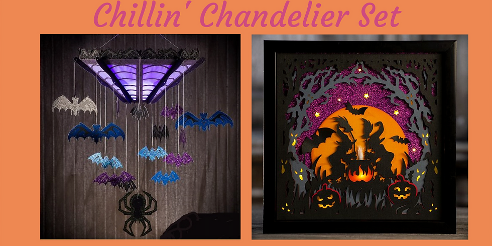 3D Paper Connection - Chillin Chandelier Set