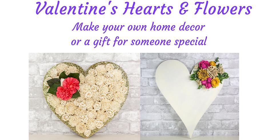 Valentine's Hearts & Flowers (Sat)