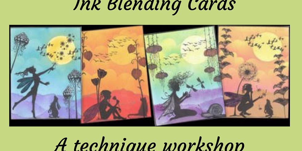 Ink Blending Technique Cards