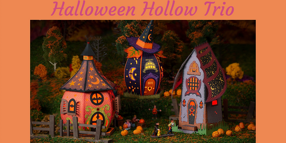 3D Paper Connection - Halloween Hollow Trio