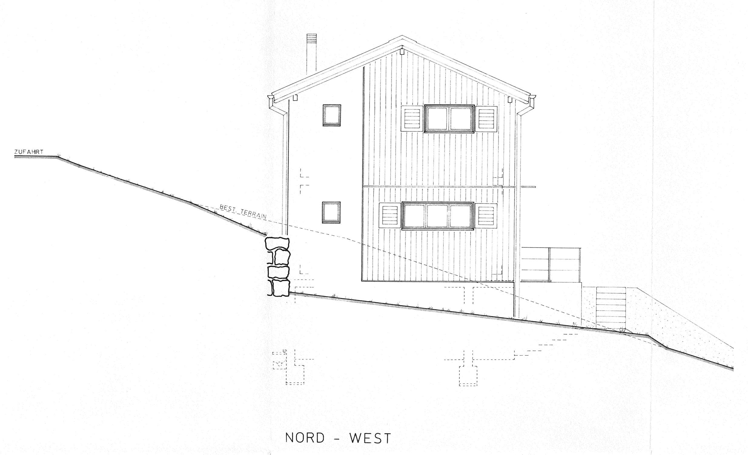 Nord-Westfassade