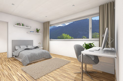 Zimmer mit Hintergrund