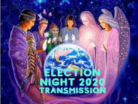 please come forward to join this election night transmission to ensure victory to the light