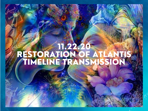 Twin Flame Ascension Report: Restoration of Atlantis timeline: The light has truly won