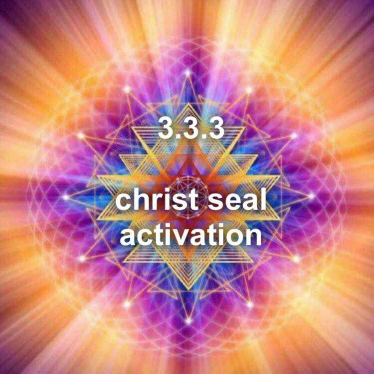 Twin Soul Energy report   3 3 3 christ seal activation