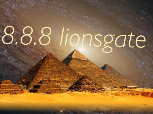 Twin Flame Energy Report...8.8.8 Lions gate ascension portal for twin flames