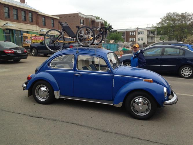 TerraTrike on a VW Beetle