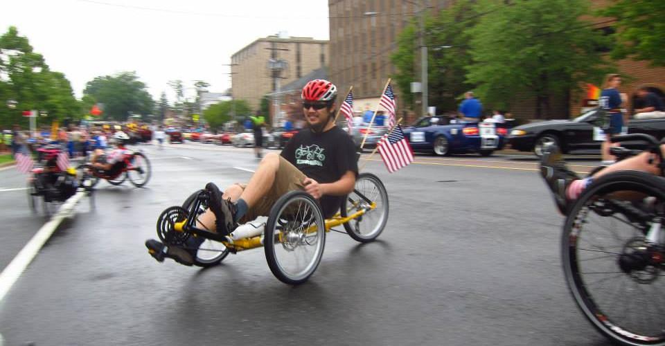 Dan in July 4th parade