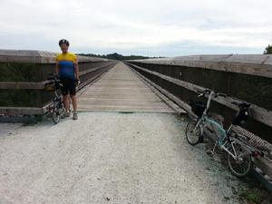 Approaching the High Bridge