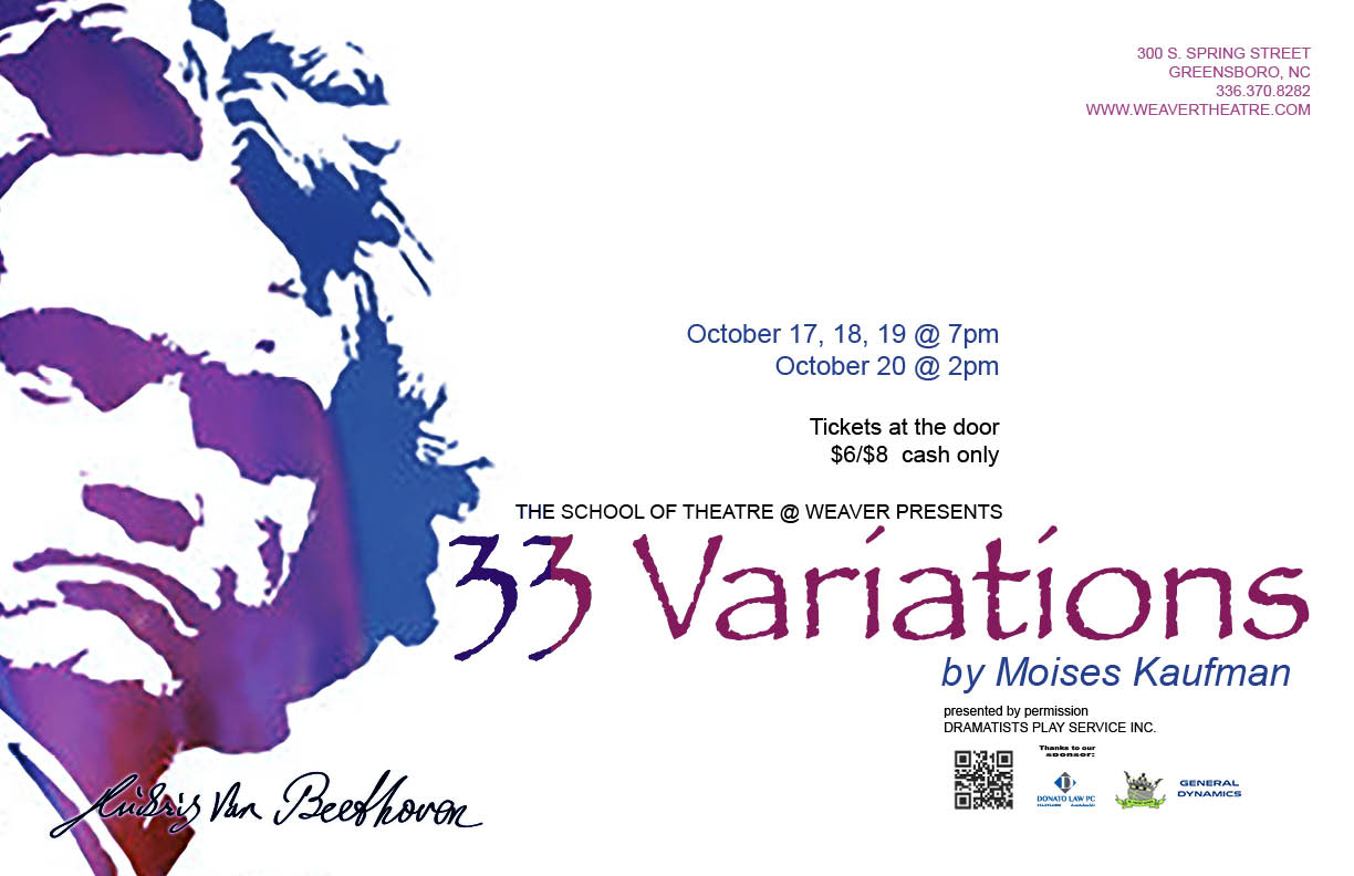 33 Variations Poster update
