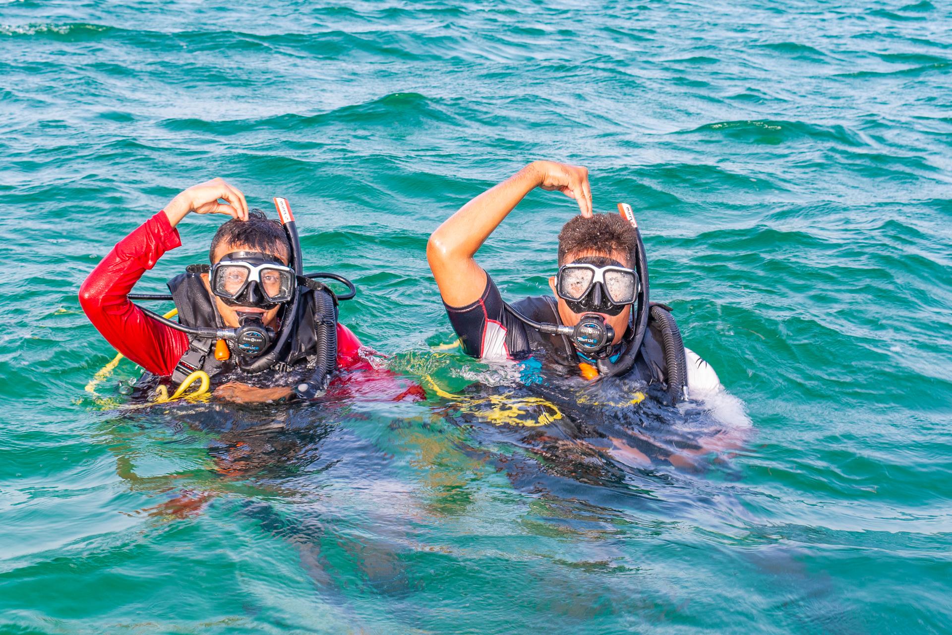 PADI-scuba-lessons Roatan-diving Tortuga-dive-center