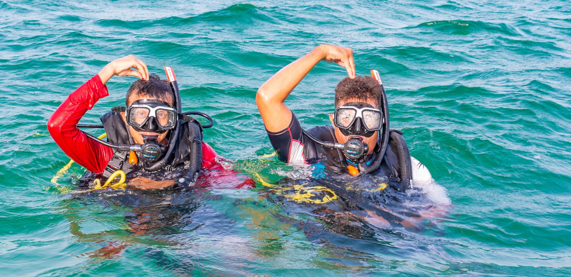 PADI-scuba-lessons