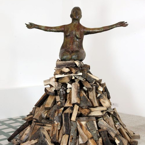 Woman on Pyre