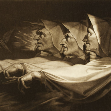 Three Weird Sisters from Macbeth