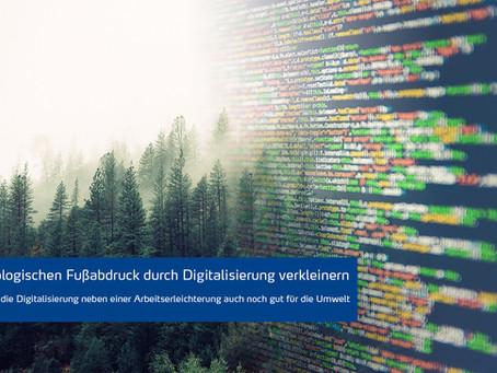 Ökologischer Fußabdruck & Digitalisierung