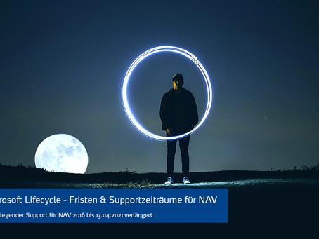 Microsoft Lebenszyklus – Fristen & Supportzeiträume für Dynamics NAV