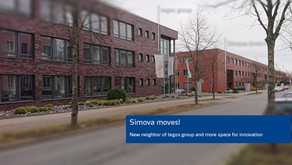 Simova moves and continues to grow