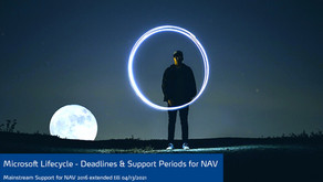 Microsoft Lifecycle - Deadlines & Support Periods for Dynamics NAV