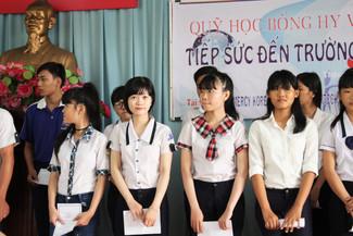 [베트남 희망장학회] 2016 년 장학금 수여 - 몸은 힘들어도 마음은 웃습니다.