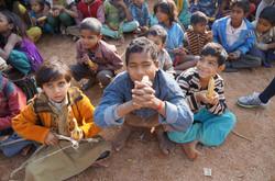 인도 찬드라반 빈곤 아동 지원