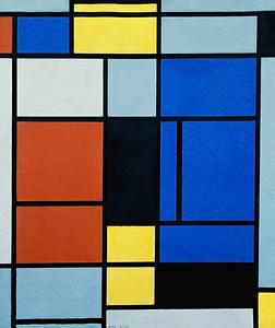 Eclosia School - Tableau n°1 de Piet Mondrian