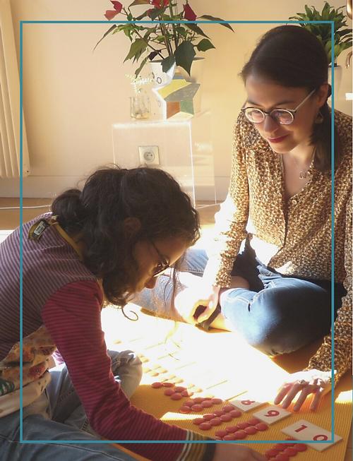 Stéphanie, fondatrice Eclosia School et éducatrice Montessori AMI