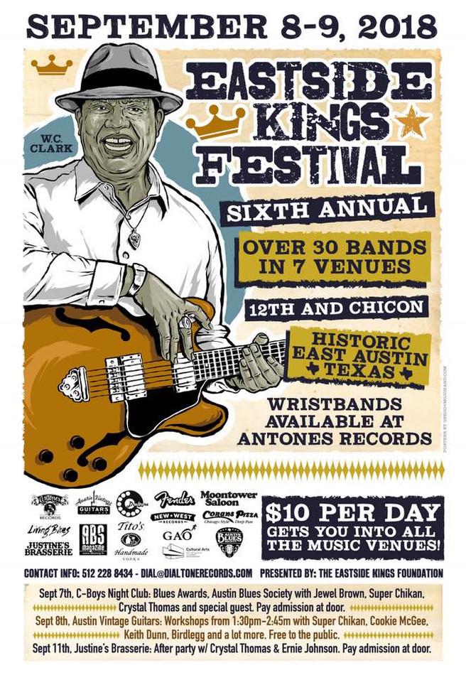 Austin Blues Society Awards Show at the Eastside Kings Festival!