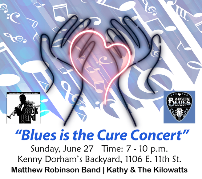 """Join Us for the """"Blues is the Cure"""" Concert!"""