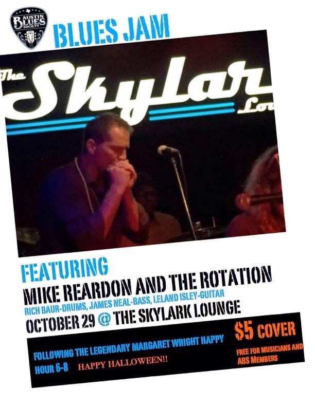 October Blues Jam with Mike Reardon!