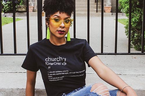"""Churchy"" T-shirt"