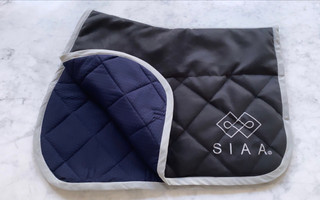 Horse saddle pad cotton _ recycled polye