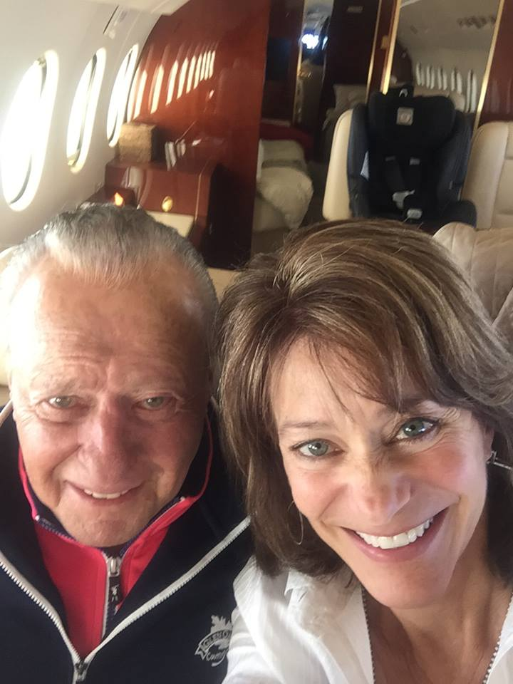 Bill and Susan heading to Okinawa