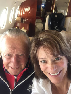 Bill and Susan heading to Okinawa