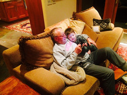 Hudson and Grandpa