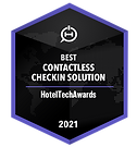 Badge - Best Contactless Checkin 2021(40