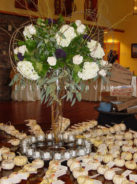 Entry Table @The Riverhouse