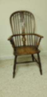 19th c British ladder back Windsor Chair