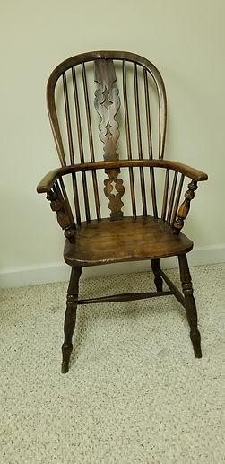 19th c British ladder back Windsor Chair