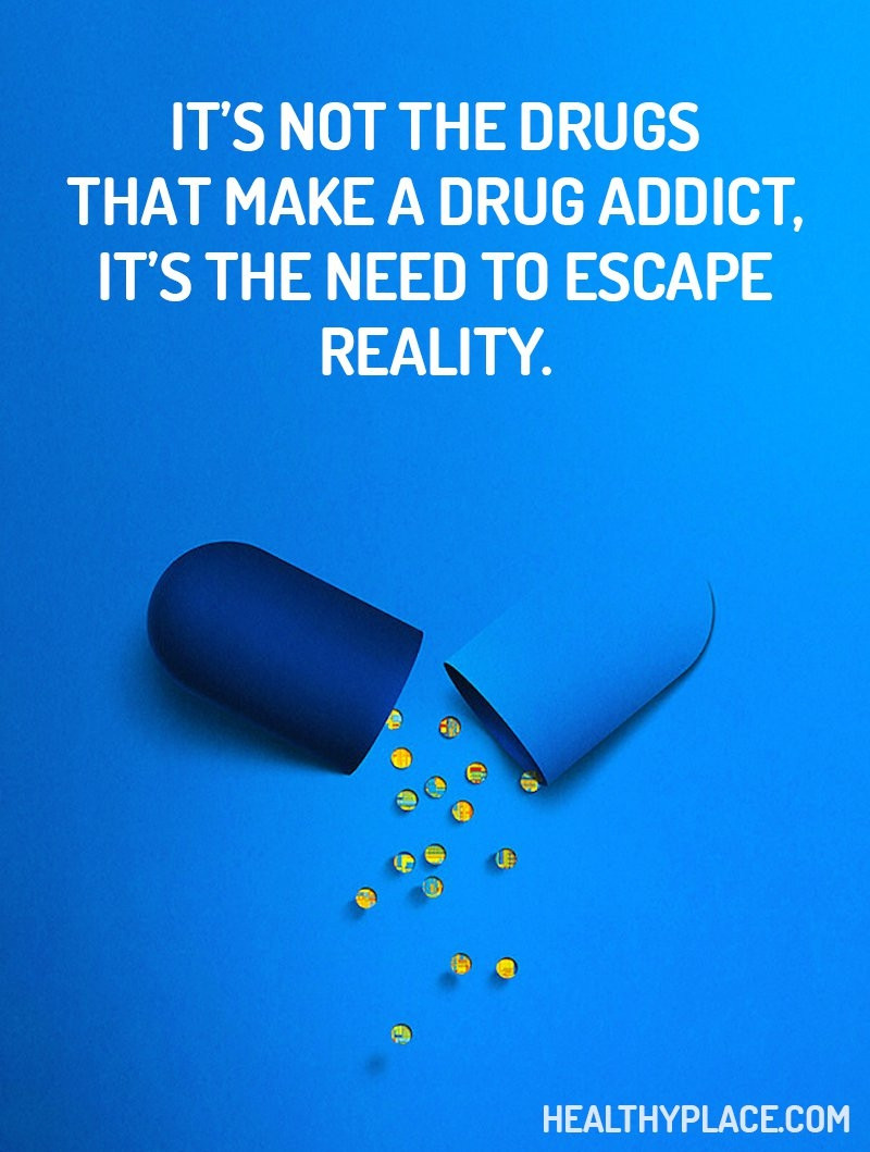 Alternate Reality is the drug of choice