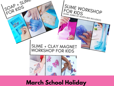 March School Holiday Workshop