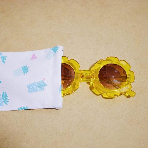Flower Sunglass in Yellow