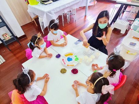 Bath Fizz Workshop for Kids Spa Party