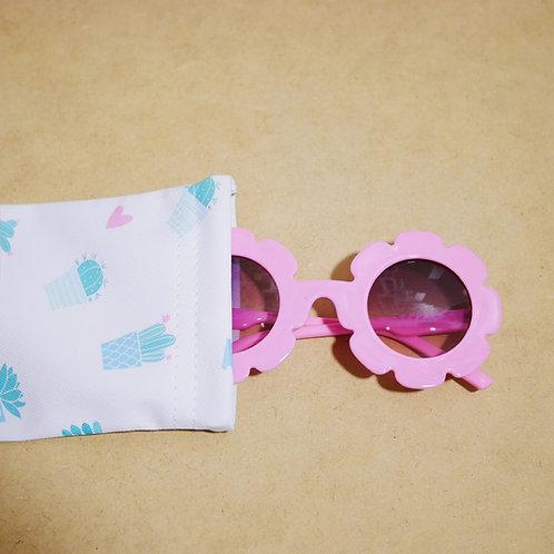Flower Sunglass in Pink